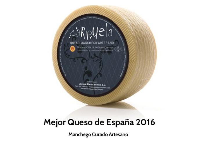 Alimentacion Alimentacion El manchego Carpuela, medalla de oro al mejor queso de España en Reino Unido