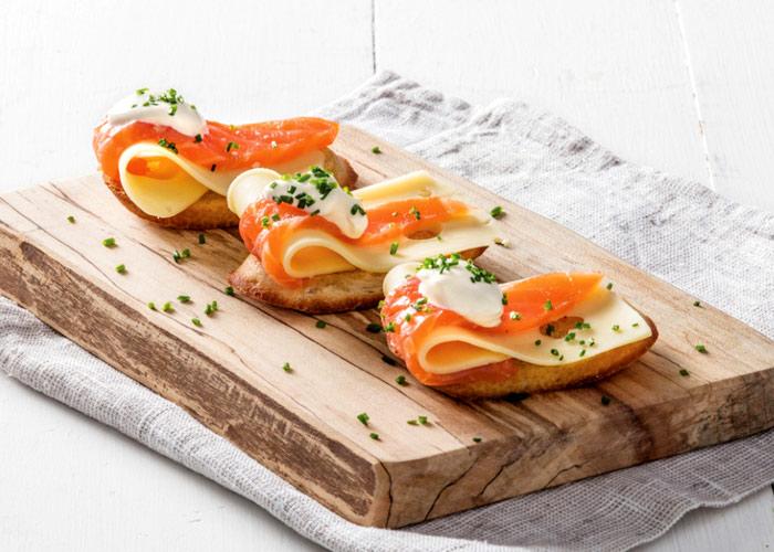 Alimentacion Alimentacion Canapés con sabor a salmón: más sencillos y vistosos… ¡imposible!