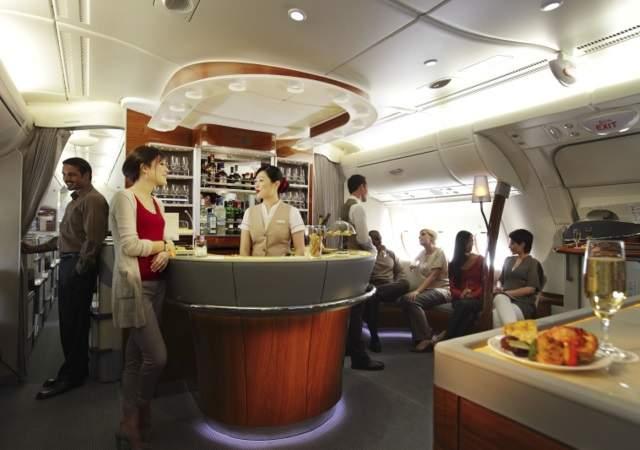 Vinos Vinos Emirates, 500 millones de dólares para disfrutar del mejor vino en el cielo