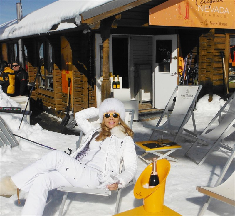 Bebidas Bebidas ¿Por qué beber champagne en las pistas de nieve?