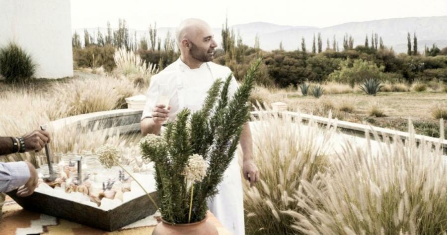 """Chef Chef """"Me gusta mucho la comida callejera"""", dice el chef argentino Germán Martitegui"""