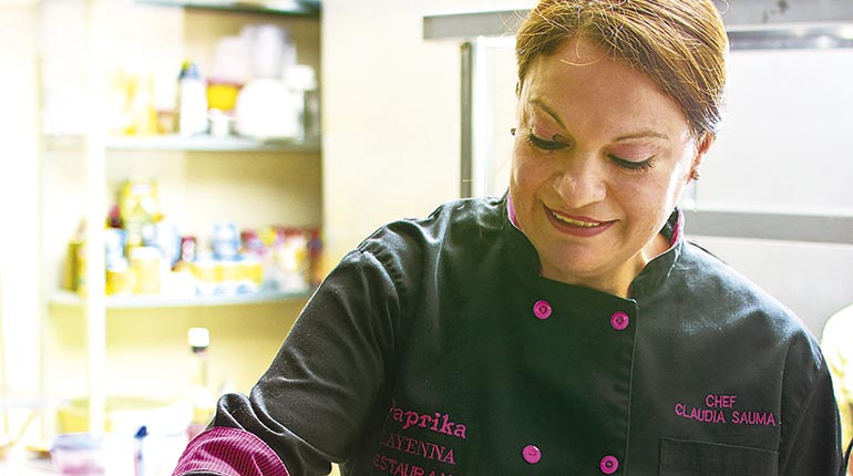 America America Yo chef: De la mano de Claudia Sauma