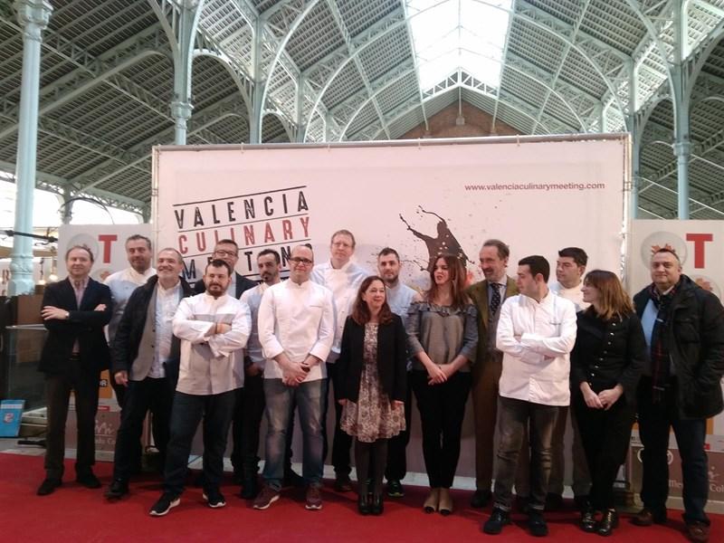 Actualidad Actualidad La Valencia Culinary Meeting trae a grandes chefs nacionales e internacionales para cocinar menús únicos a cuatro manos