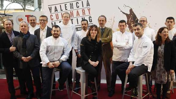 Actualidad Actualidad Nueve estrellas Michelin y 21 soles Repsol crearán menús únicos en Valencia Culinary Meeting