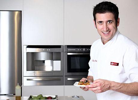 Chef Chef El chef Diego Ferrer, en el showcooking de Antalia en Espacio Cocina