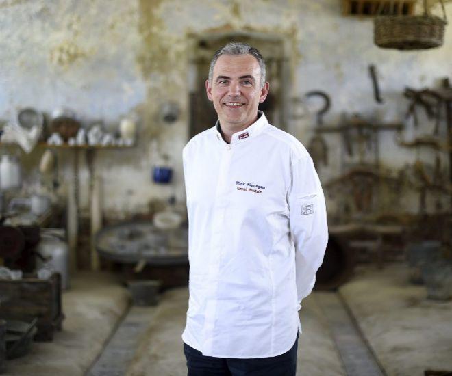 Chef Chef Mark Flanagan, el jefe de cocina de Isabel II desvela sus secretos