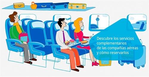 Agencias de Viajes Agencias de Viajes Amadeus España fomenta los 'ancillary services' a través de su nueva web