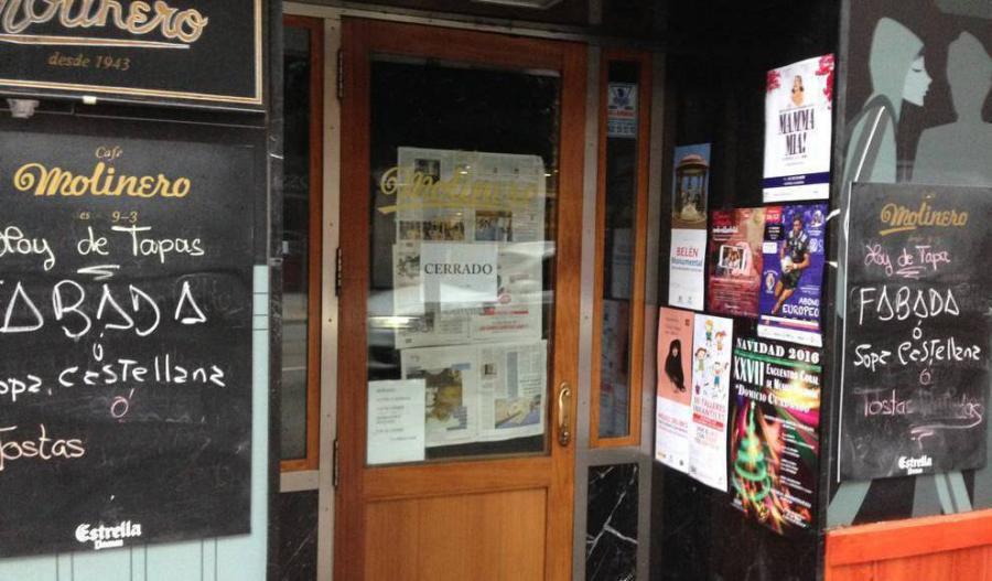 Actualidad Actualidad La histórica cafetería Molinero de Valladolid se prepara para transformarse en un moderno restaurante