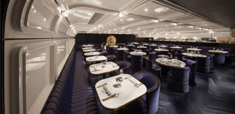 Actualidad Actualidad El secreto restaurante 'retro-futurista' que se oculta tras una exclusiva tienda de paraguas