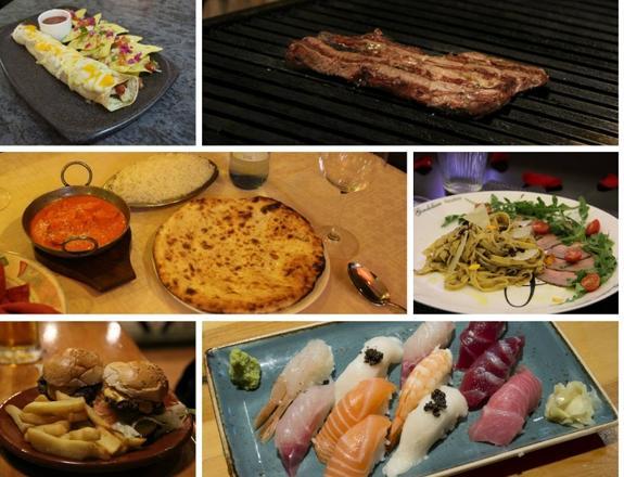 Actualidad Actualidad 7 sitios para comerse el mundo sin salir de Granada