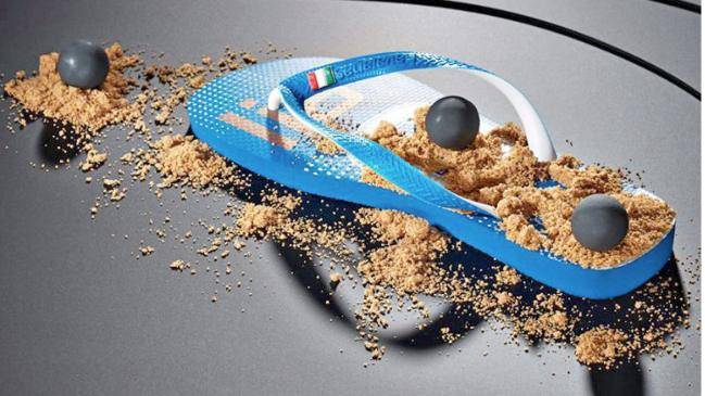 Actualidad Actualidad El restaurante de dos Estrellas Michelin que sirve el postre en una sandalia de playa