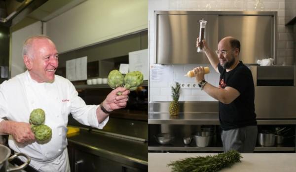 Chef Chef Carles Gaig vs. Jordi Butrón: avise a cocina de si es zurdo o diestro