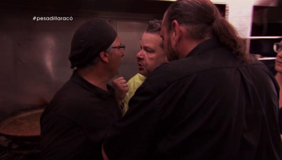 Actualidad Actualidad Alberto Chicote y el cocinero de El Racó Maritim, cara a cara esta noche en Pesadilla en la cocina