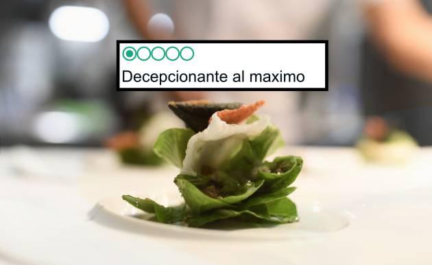 Actualidad Actualidad Hasta el mejor restaurante del mundo tiene críticas pésimas en TripAdvisor